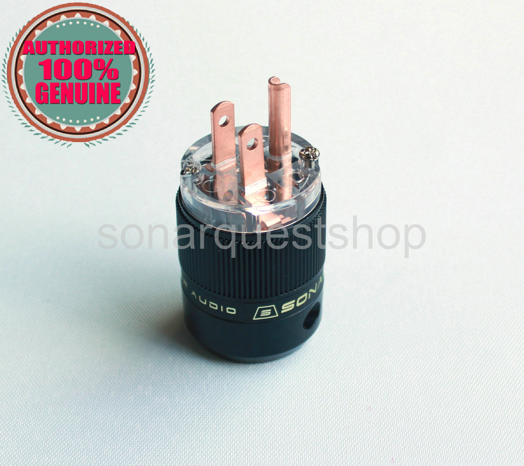 SONARQUEST SE-RP(T) Red Copper UT Power Plug